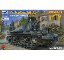 Bronco Models CB35065 - 1:35 German Pz.Kpfw. 35(t) Light Tank
