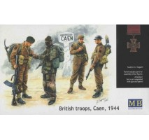 Masterbox 3512 - 1:35 British troops, Сaen, 1944 - 4 figures