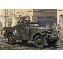 "HobbyBoss 82452 - 1:35 M3A1  ""White Scout Car""  Late Production"