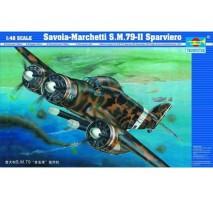 Trumpeter 02817 - 1:48 Aircraft-Savoia Marchetti SM.79-II