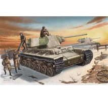 Trumpeter 00359 - 1:35 Russian KV-1 model 1942 Heavy Cast Turret Tank