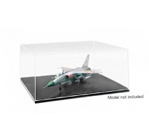 MasterTools 9808 - QM Plastic Transparent Case 1:72 / 1:48 / 1:18 / 1:24 / 1:35 (316x276x136 mm)