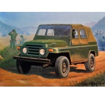 Trumpeter 02302 - 1:35 Chinese BJ212 Military Jeep