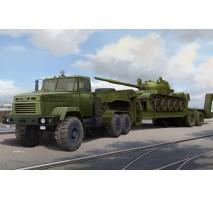 Hobby Boss 85513 - 1:35 Ukraine KrAZ-6446 Tractor with MAZ/ChMZAP-5247G semitrailer