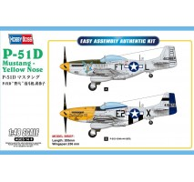 Hobby Boss 85808 - 1:48 P-51D Mustang - Yellow Nose