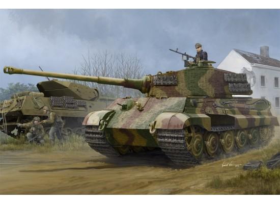 Hobby Boss 84531 - 1:35 Pz.Kpfw.VI Sd.Kfz.182 Tiger II (Henschel 1944 Production) w/ Zimmerit