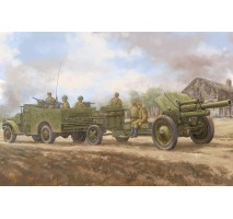 Hobby Boss 84537 - 1:35 M3A1  late version tow 122mm Howitzer M-30