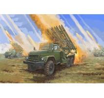 Trumpeter 01062 - 1:35 Soviet 2B7R Multiple Rocket Launcher BM-13 HMM