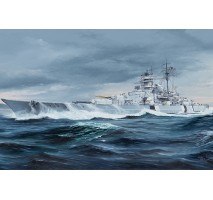 Trumpeter 05358 - 1:350 German Bismarck Battleship