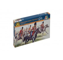 Italeri 6001 - 1:72 WATERLOO 200 - NAPOL.WARS:  BRITISH HEAVY CAVALRY - 18 figures
