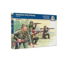 Italeri 6079 - 1:72 VIETNAM WAR: VIETNAMESE ARMY-VIETCONG - 50 figures