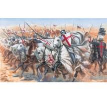 Italeri 6125 - 1:72 MEDIEVAL ERA: TEMPLAR KNIGHTS - 15 figures