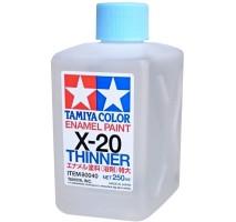 TAMIYA 80040 - X-20 Enamel Thinner (250 ml)