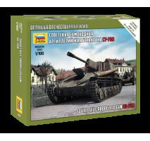 Zvezda 6239 - 1:100 SU-76M SOVIET S.P.GUN - Snap-fit