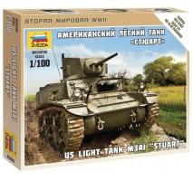 Zvezda 6265 - 1:100 Stuart US-Tank