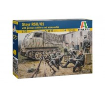 Italeri 6549 - 1:35 STEYR RSO/01 with GERMAN SOLDIERS - 7 figures