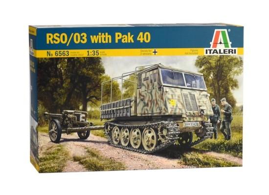 Italeri 6563 - 1:35 RSO/03 with PAK 40