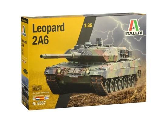 Italeri 6567 - 1:35 LEOPARD 2A6