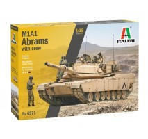 Italeri 6571 - 1:35 M1A2 ABRAMS with crew - 5 figures