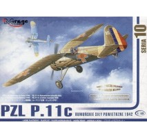 Mirage Hobby 48103 - 1:48 PZL P-11c ROMANIAN AIR FORCE