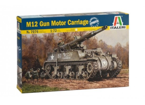 Italeri 7076 - 1:72 M12 Gun Motor Carriage
