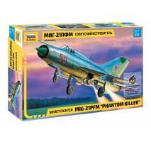 Zvezda 7202 - 1:72 MIG-21 PFM SOVIET FIGHTER