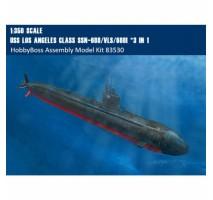 HobbyBoss 83530 - 1:350 USS Los Angeles Class SSN-688/VLS/688I *3 IN 1
