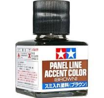 TAMIYA 87132 - Panel Line Accent Color (Brown) - 40ml