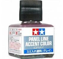 TAMIYA 87133 - Panel Line Accent Color (Gray) - 40ml