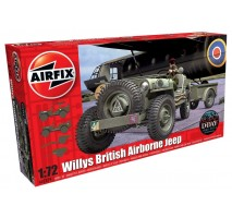 Airfix A02339 - 1:72 Willys British Airborne Jeep
