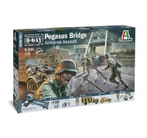 Italeri 6194 - 1:72 Battleset: WWII PEGASUS BRIDGE - 100 figures