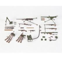 TAMIYA 35121 - 1:35 U.S. Infantry Weapons Set Kit - CA221