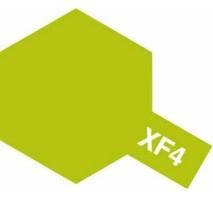 TAMIYA 81304 - XF-4 Yellow Green - Acrylic Paint (Flat) 23 ml