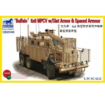 Bronco Models CB35145 - 1:35 'BUFFALO' 6x6 MPCV with Slat Armor & Spaced Armor Versio