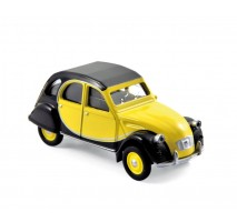 NOREV 310506 - Citroen 2CV Charleston 1982 - Yellow & Black