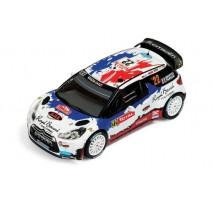 IXO - 1:43 CITROEN DS3 WRC #22 B.BOUFFIER-X.PANSERI RALLY MONTE CARLO 2013