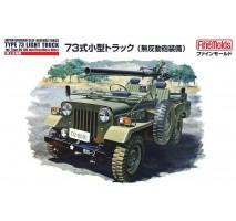 FINE MOLDS FM36 - 1:35 JGSDF Type 73 Light Truck w/Recoilless Rifle