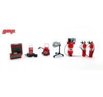 GMP18870 - 1:18 Shop Tool Set #1 - Texaco