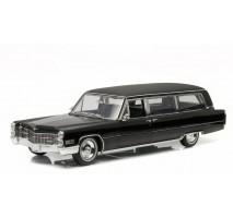 GreenLight PC-18002 - 1966 Cadillac S&S Limousine - Black - Precision Collection