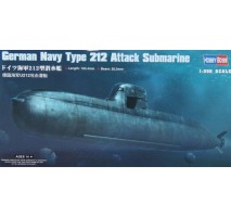 HobbyBoss 83527 - 1:350 German Navy Type 212 Attack Submarine