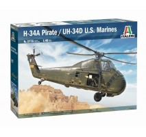 "Italeri 2776 - 1:48 H-34A ""Pirate"" / UH-34D Marines"