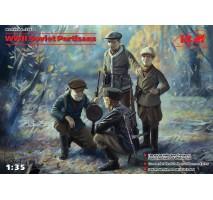 ICM 35631 - 1:35 WWII Soviet Partisans (4 figures)