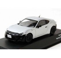 J-Collection - 1:43 TOYOTA 86 RC version 2012 - Silver/ Black
