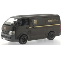 J-Collection - 1:43 TOYOTA HIACE Van 2007 UPS HK delivery
