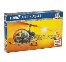 Italeri 0095 - 1:72 BELL AH.1/AB-47