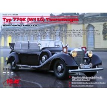 ICM 35533 - 1:35 Mercedes-Benz Typ 770K (W150) Tourenwagen WWII German Leader's Car