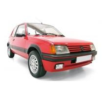 NOREV 471713 - Peugeot 205 GTI 1986 - Red JET CAR