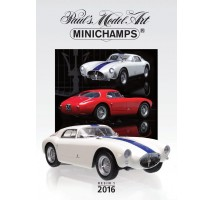 Minichamps - PMA CATALOGUE - 2016 - RESIN