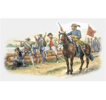 Italeri 6014 - 1:72 CONFEDERATE TROOPS - 50 figures