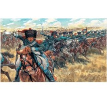 Italeri 6080 - 1:72 NAPOLEONIC WARS: FRENCH LGT CAVALRY - 17 figures